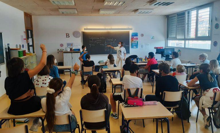 Finestrat retoma los cursos de coeducación sobre igualdad en las aulas