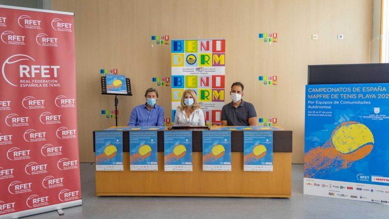 Benidorm, sede del campeonato de España de Tenis Playa por comunidades autónomas