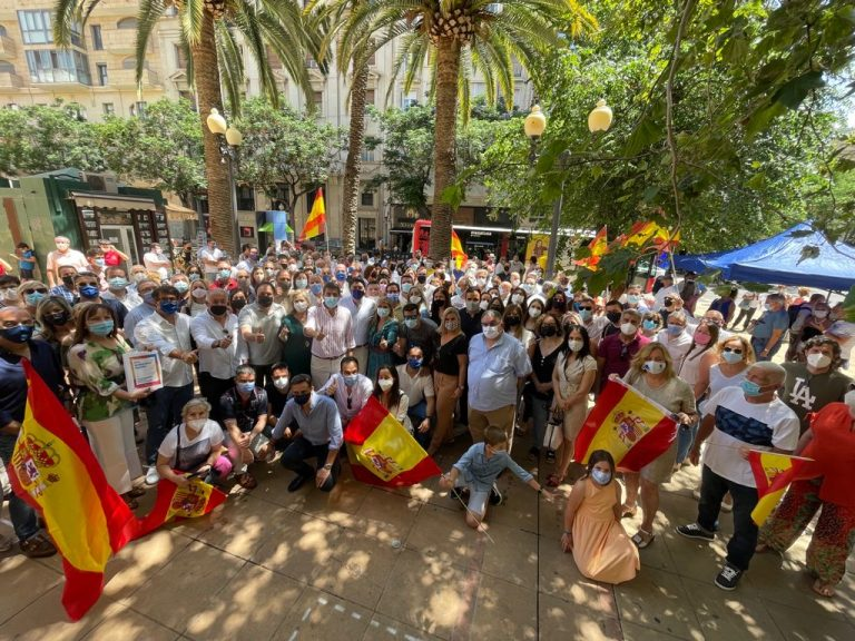 Acto en Alicante contra los indultos