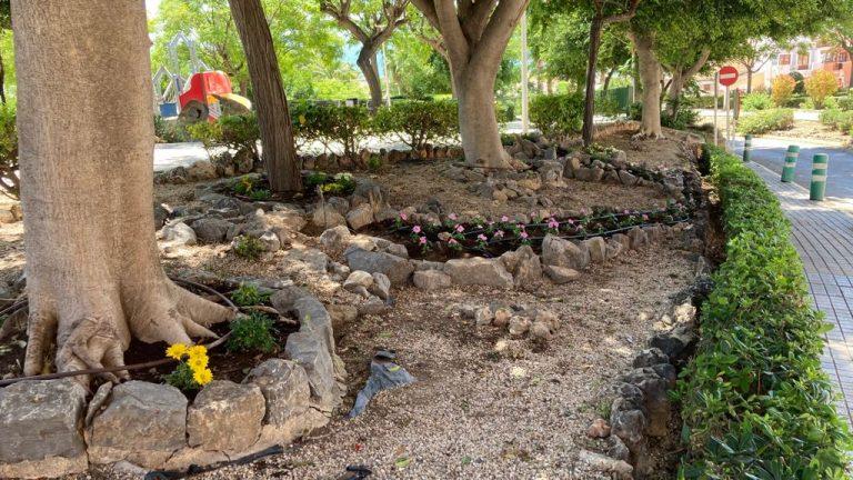 La Vila comienza el replantado de 4000 plantas en el parque Censal