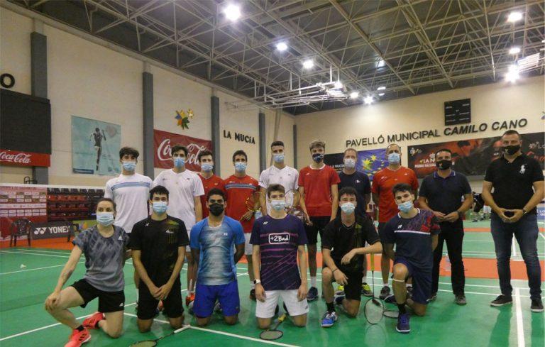 La Selección Española de Bádminton se concentra en La Nucía